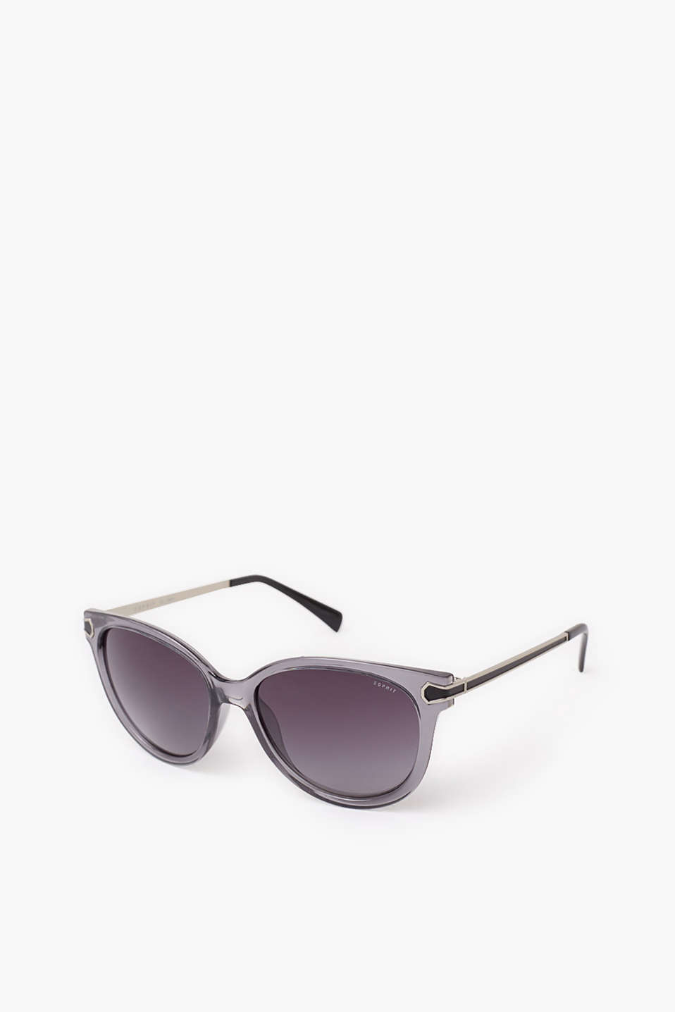 Esprit - Oversized sunglasses with metal temples