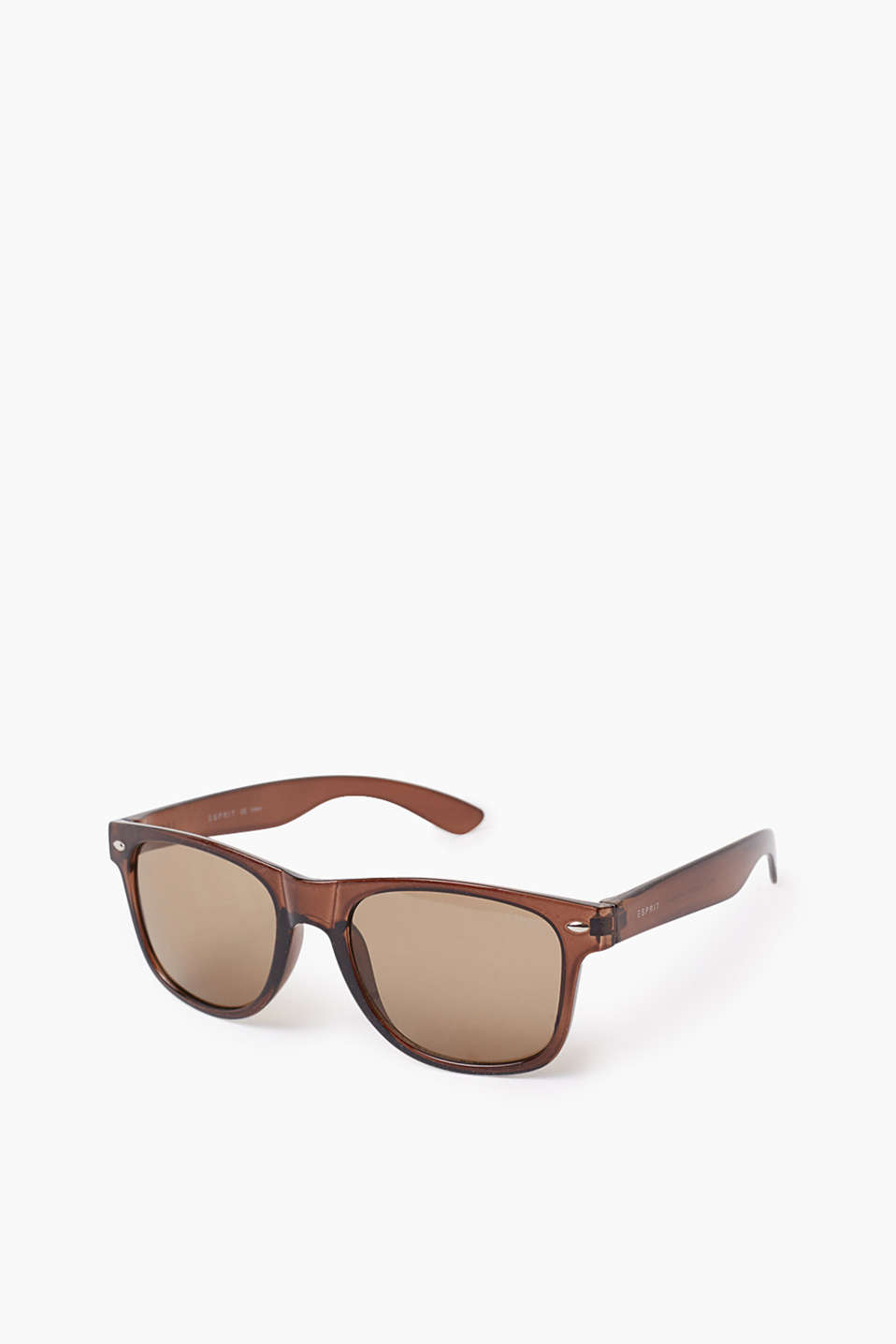 Classic sunglasses for men with rounded corners