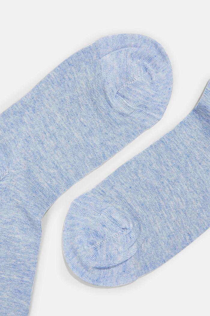 Socken mit Rollbündchen aus Baumwoll-Mix, JEANS, detail image number 1