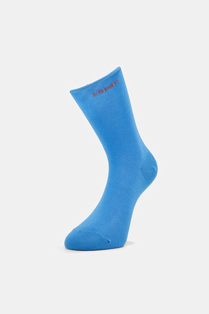 Socken mit Rollbündchen aus Baumwoll-Mix, MORNING SKY, detail image number 2