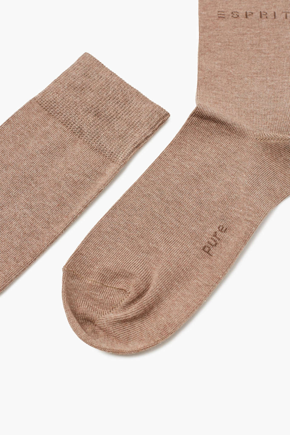 fine knit knee-high socks
