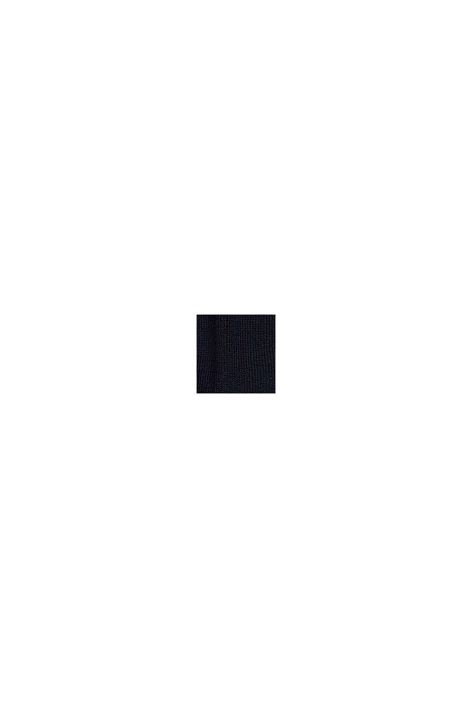 Con lana vergine: morbide calze antiscivolo, DARK NAVY, swatch