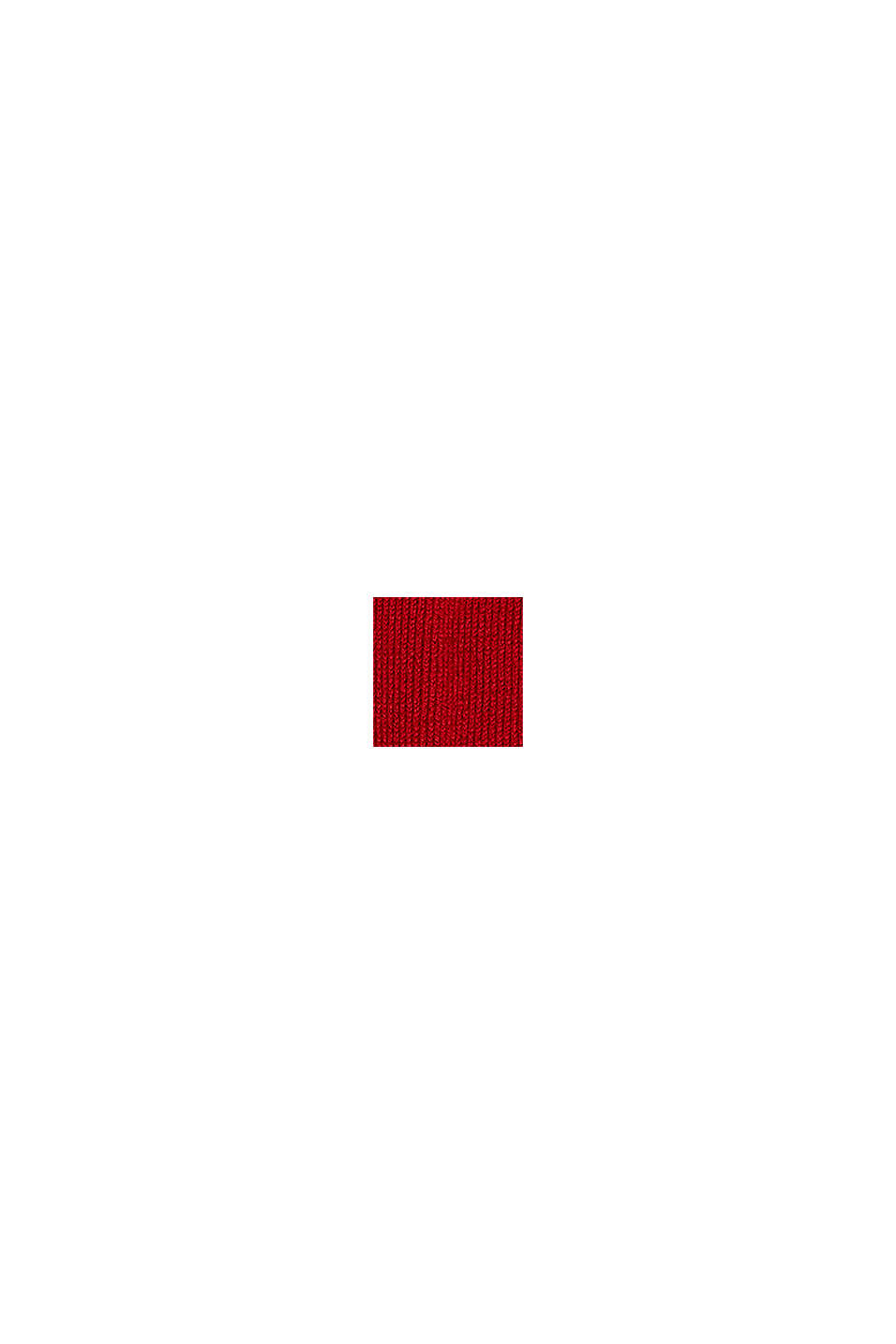 Con lana vergine: morbide calze antiscivolo, RED, swatch