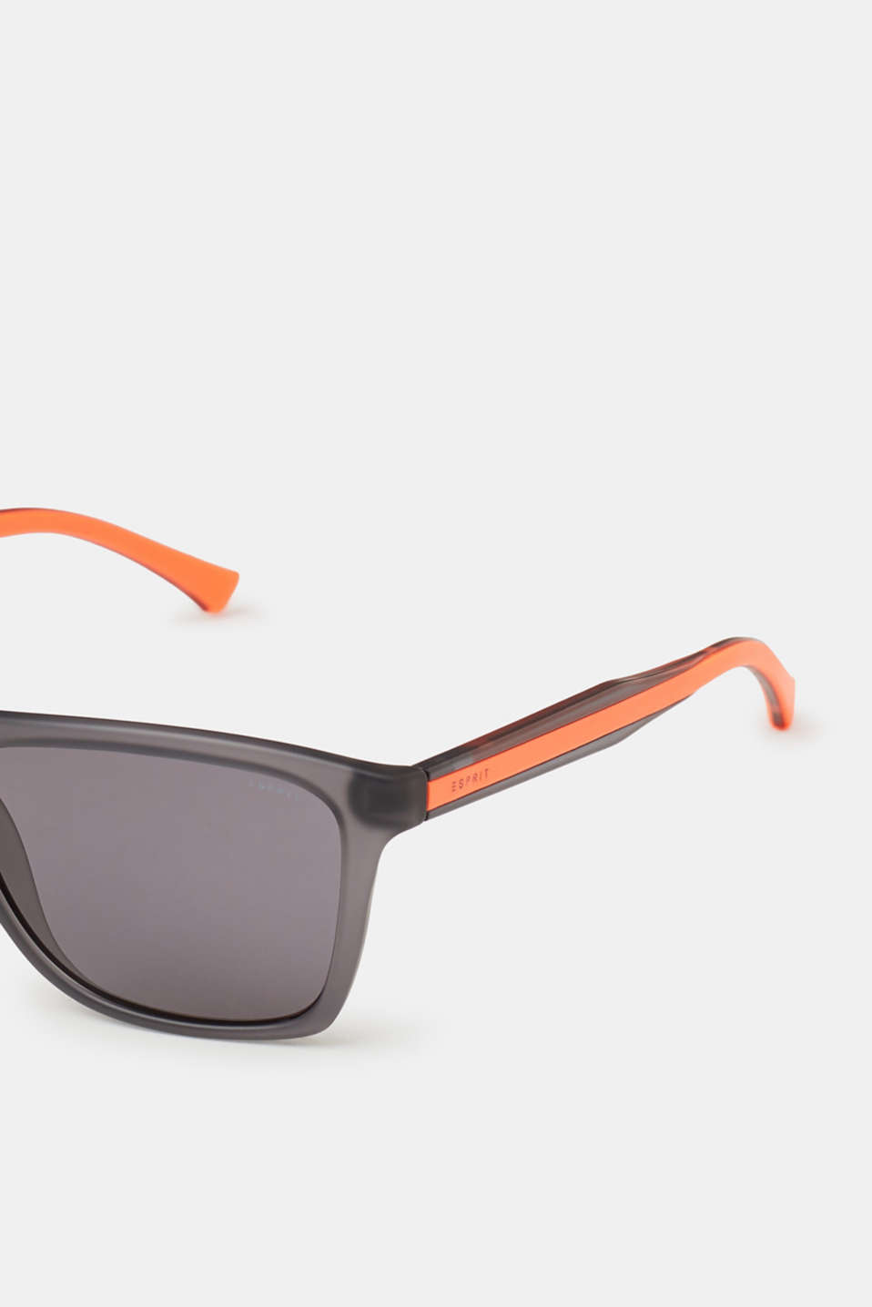 Material mix unisex sunglasses