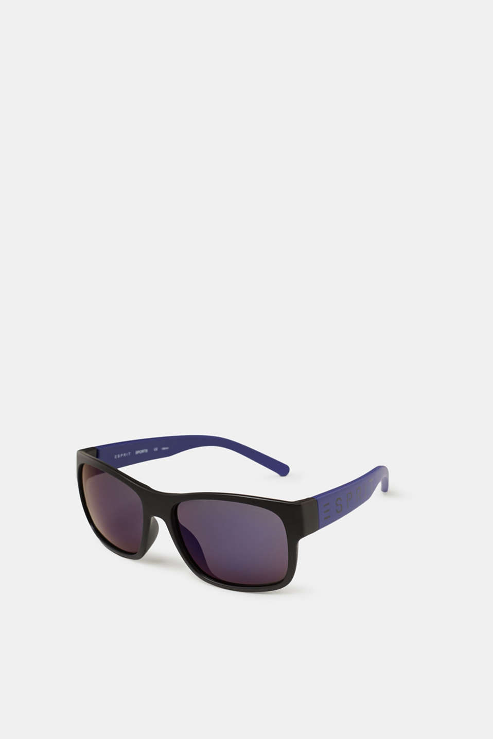 Esprit - Unisex sunglasses with neon temples