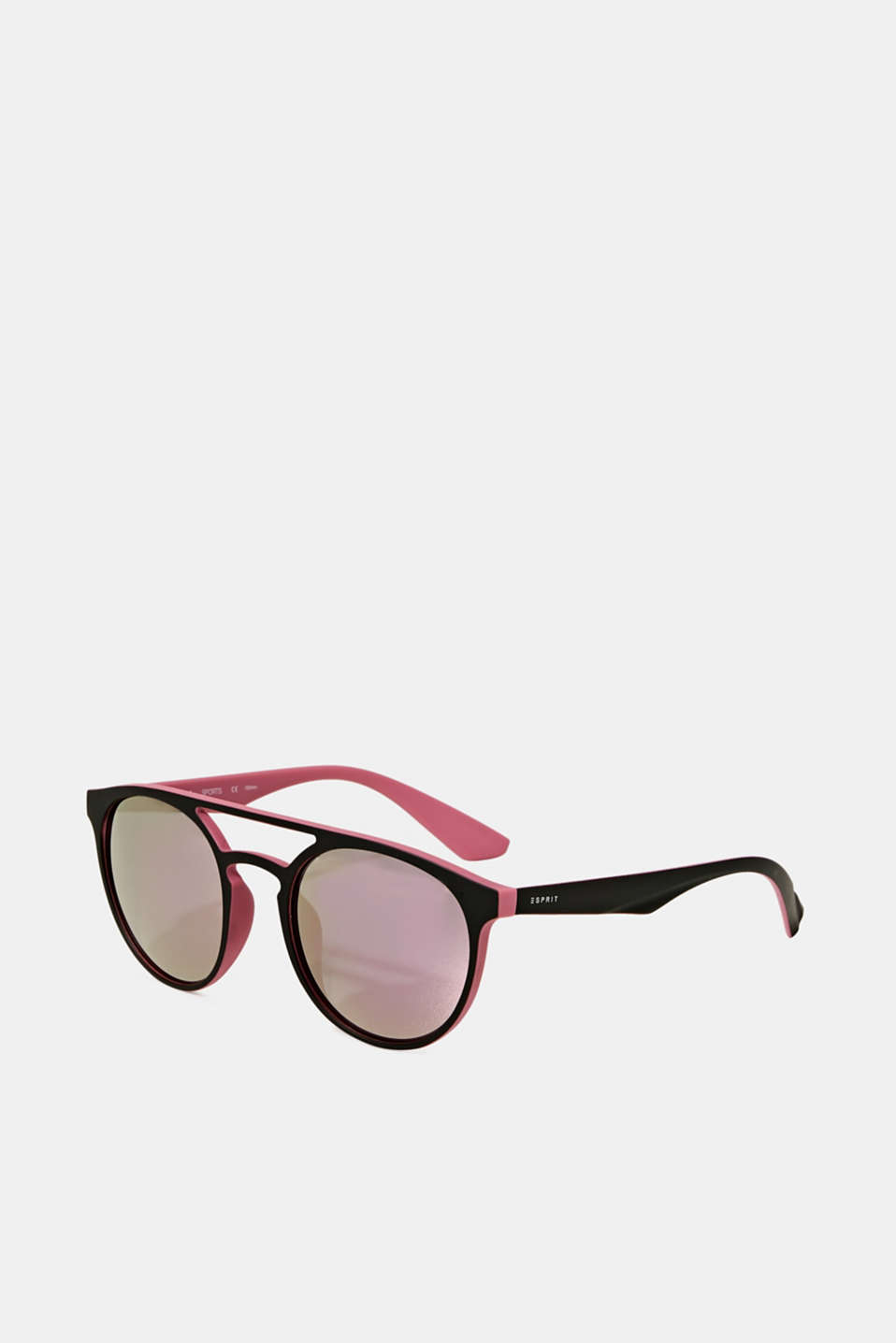 Sunglasses with mirrored lenses, ROSE, detail image number 0