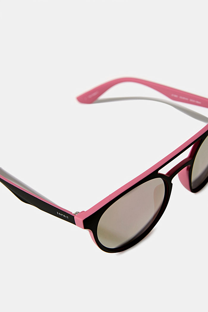 Sunglasses with mirrored lenses, ROSE, detail image number 1