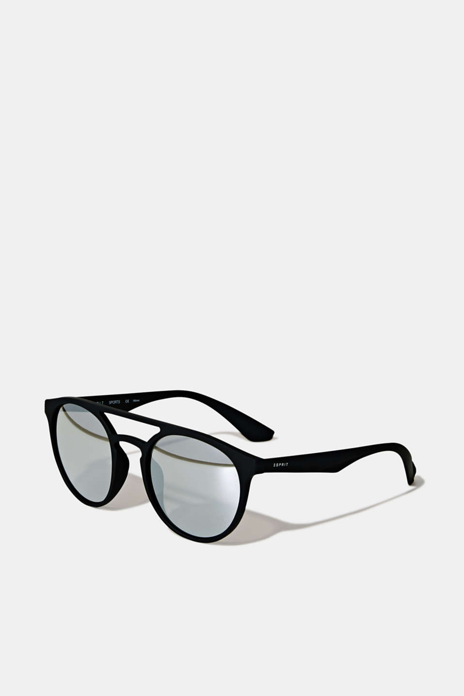 Sunglasses with mirrored lenses, LCBLACK, detail image number 0