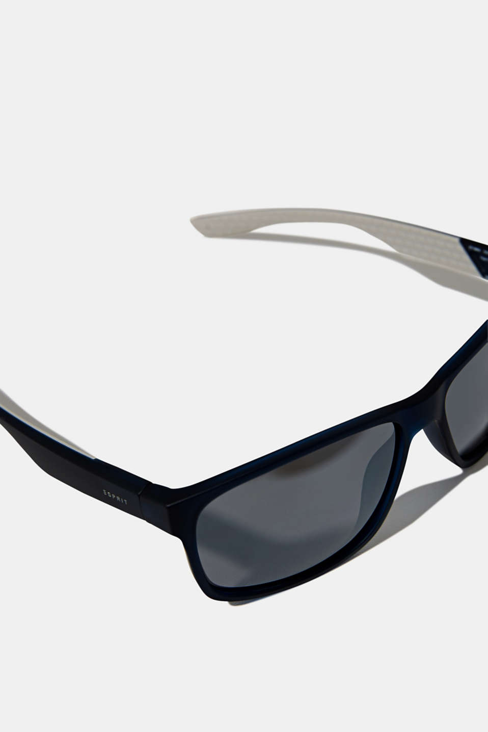 Sports sunglasses with mirrored lenses, LCNAVY BLUE, detail image number 1
