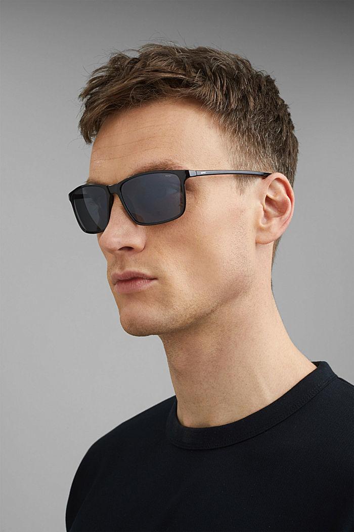 Sport-Sonnenbrille mit Polycarbonat, BLACK, detail image number 3