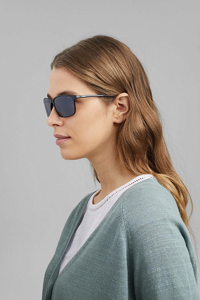 Sport-Sonnenbrille mit Polycarbonat, BLACK, detail image number 4