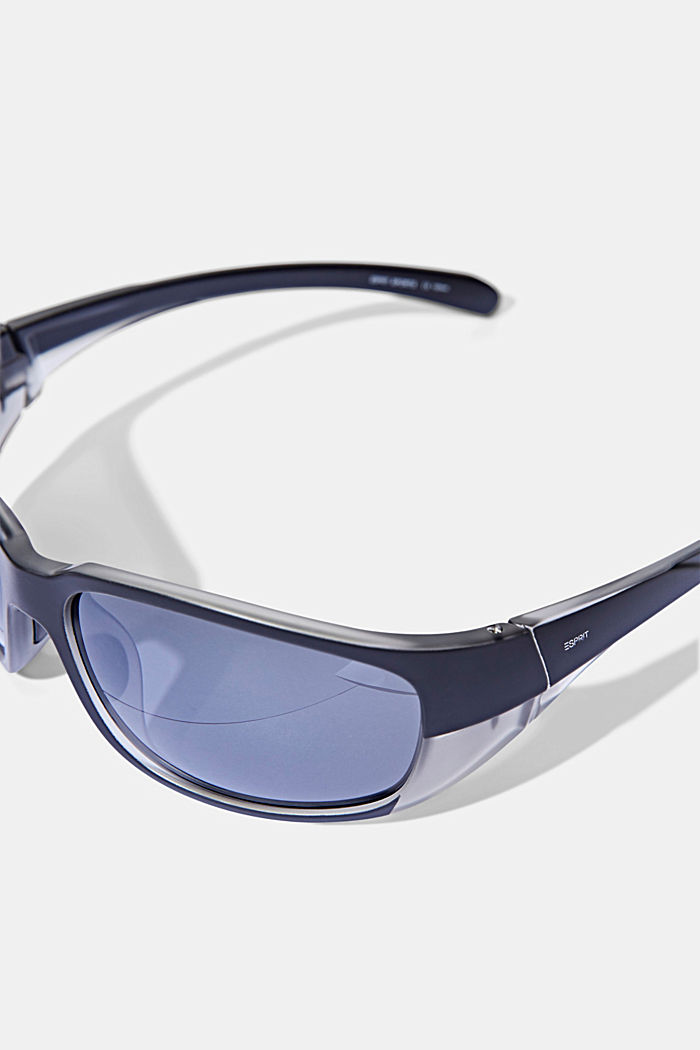 Sports sunglasses with polycarbonate lenses, BLACK, detail image number 1