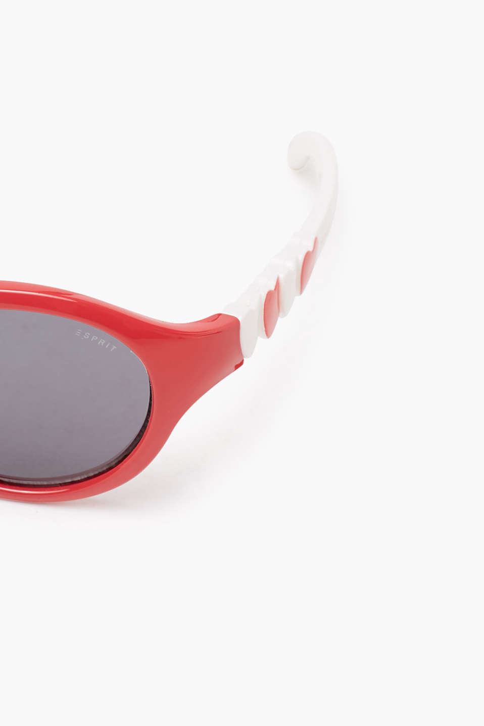 Bicolour sunglasses with heart details, RED, detail image number 1