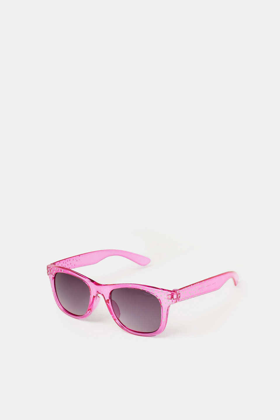 For cool kids! These sunglasses are decorated with smart stripes for boys and glittering stars for girls.