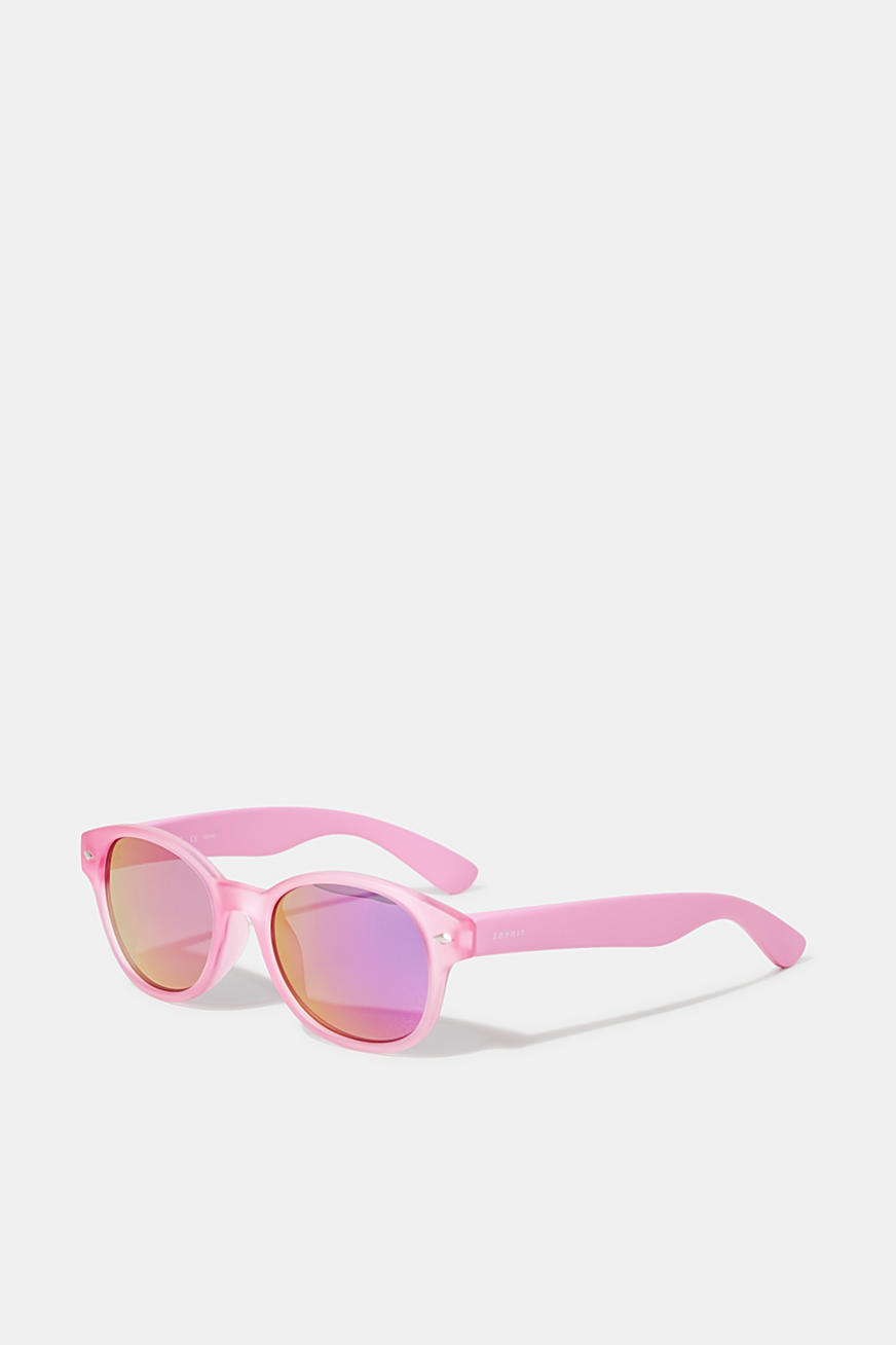 Kids' sunglasses with mirrored lenses