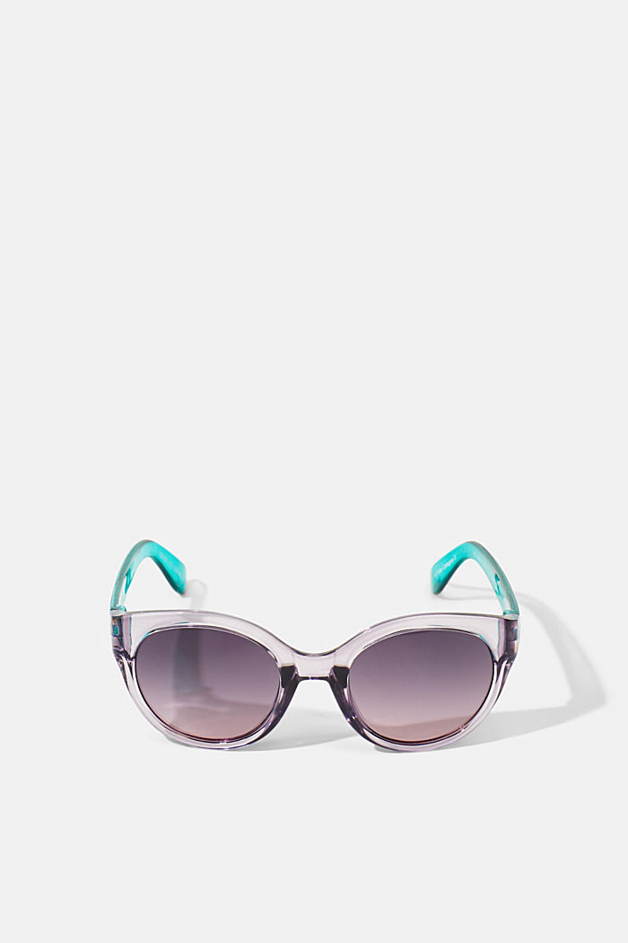 Round graduated-colour sunglasses, PURPLE, detail image number 0