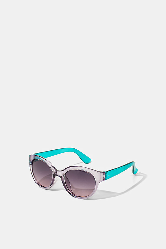 Round graduated-colour sunglasses, PURPLE, detail image number 2