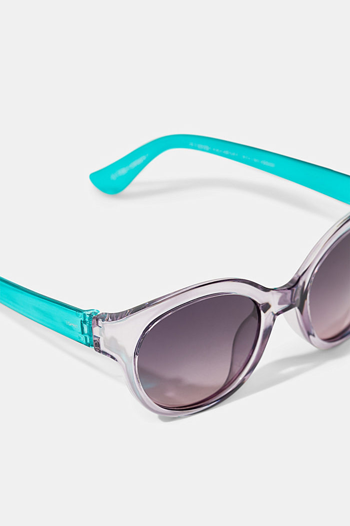 Round graduated-colour sunglasses, PURPLE, detail image number 1