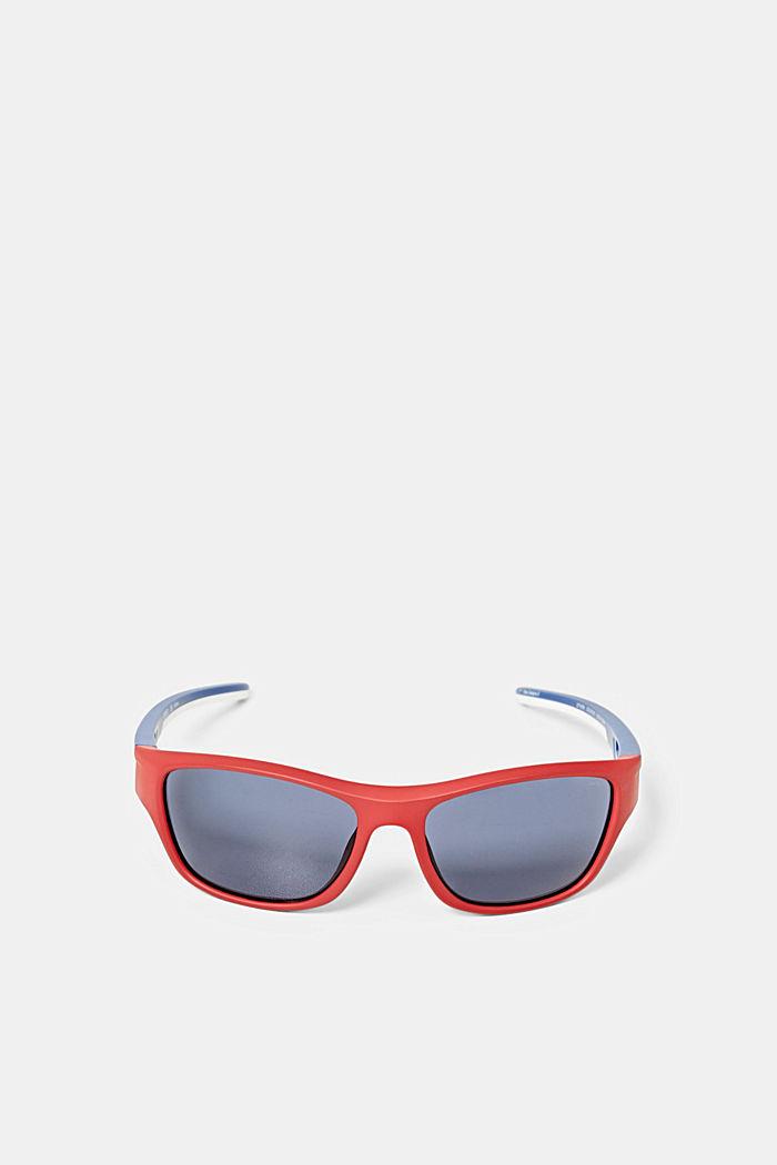 Sportssolbriller med fleksible stænger, RED, detail image number 0