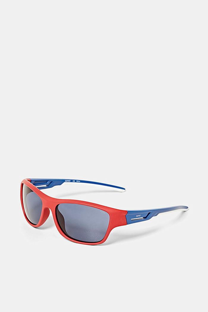Sportssolbriller med fleksible stænger, RED, detail image number 2