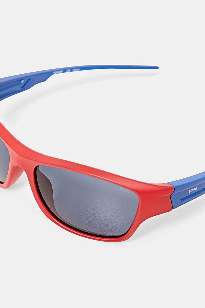 Sportssolbriller med fleksible stænger, RED, detail image number 1