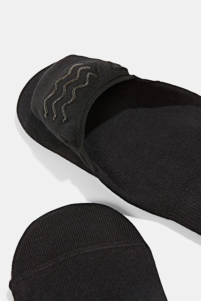 4 paria avokassukkia, joissa liukueste, BLACK, detail image number 1