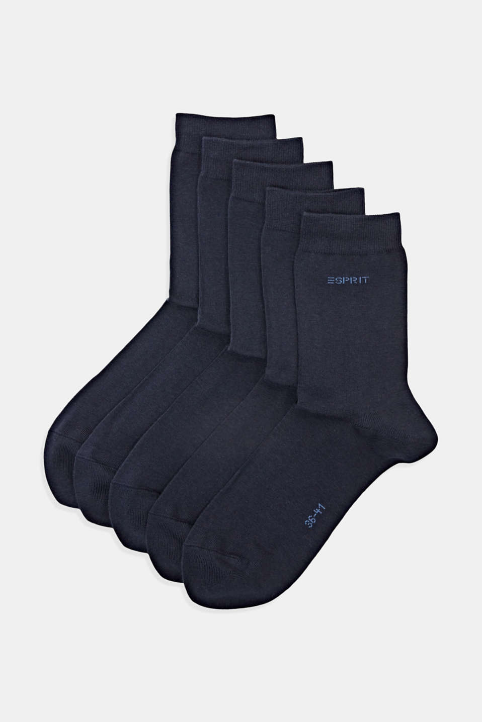 Esprit - Pack de cinco pares de calcetines