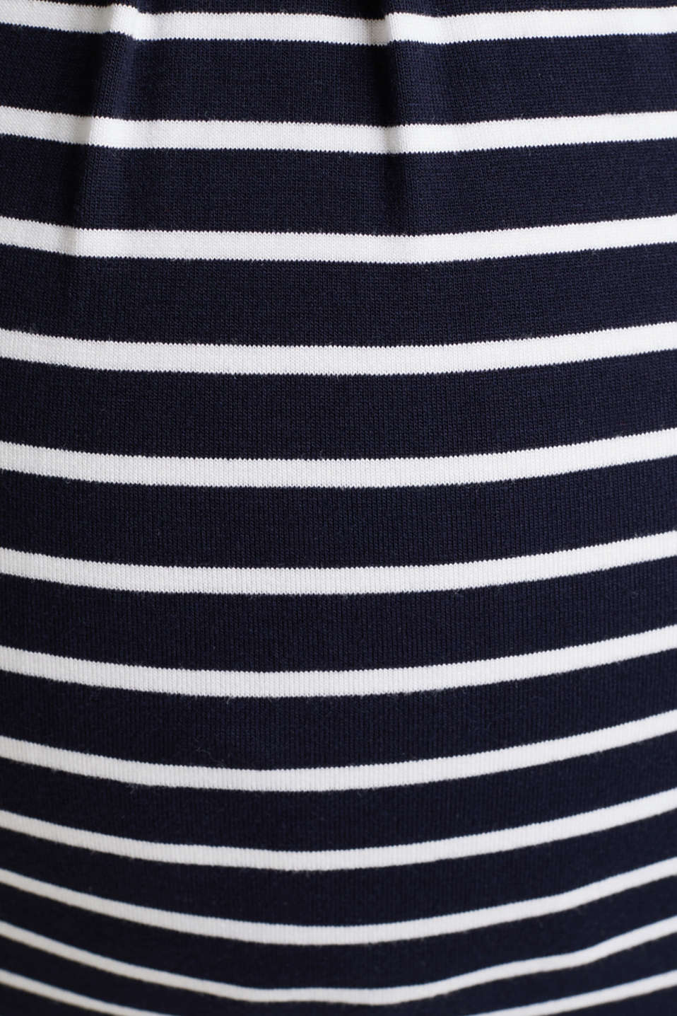 Nursing top with stripes and pleats, LCNIGHT BLUE, detail image number 4