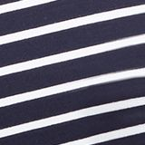 Nursing top with stripes and pleats, LCNIGHT BLUE, swatch