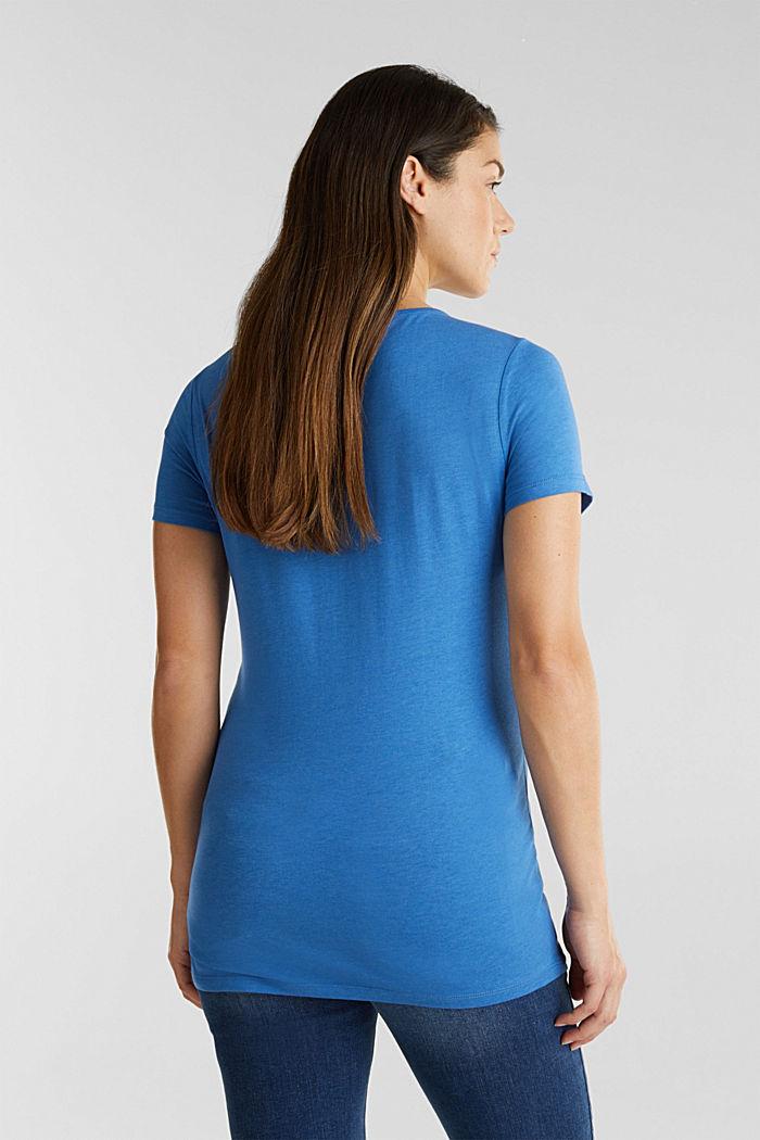 Shirt mit Loch-Stickerei, GREY BLUE, detail image number 3