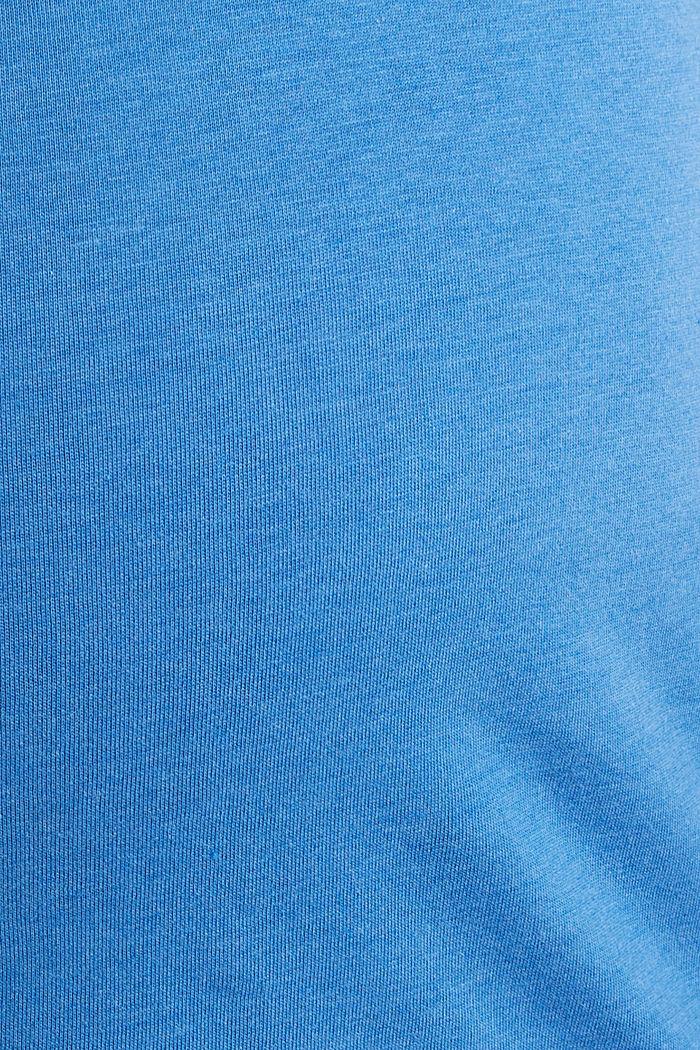 Shirt mit Loch-Stickerei, GREY BLUE, detail image number 4