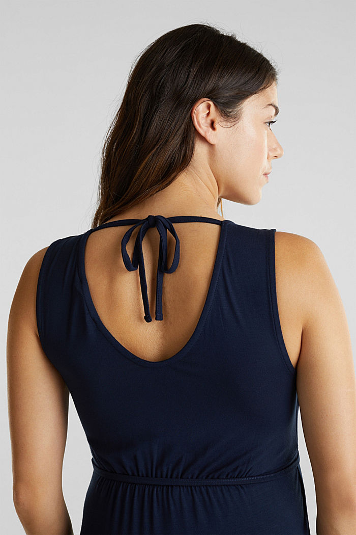 Nursing top with a wrap-over effect, NIGHT BLUE, detail image number 5