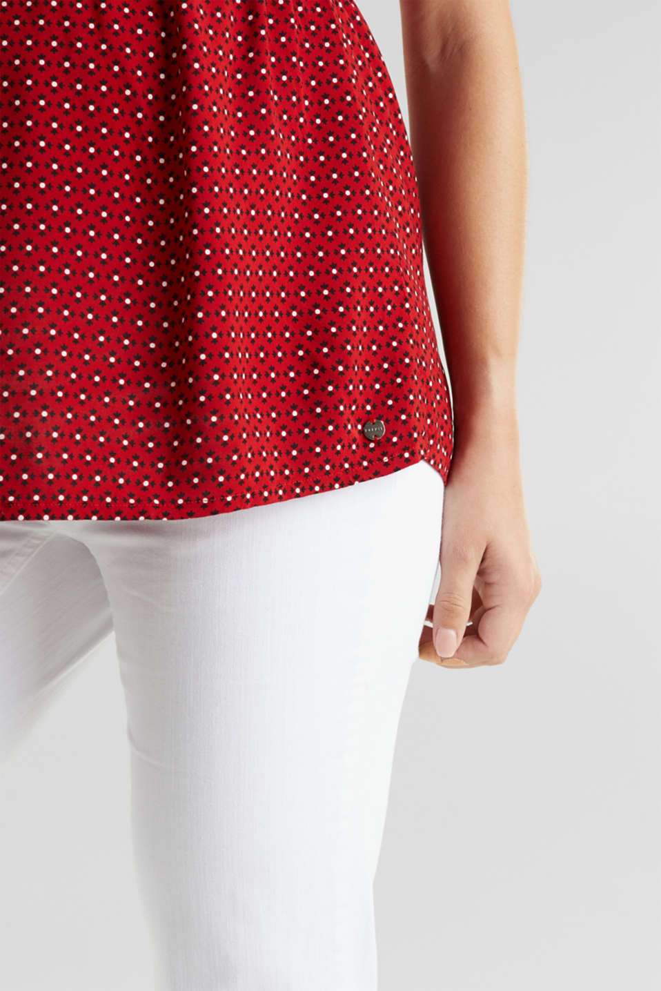 Blouse top for nursing, LCRED, detail image number 2