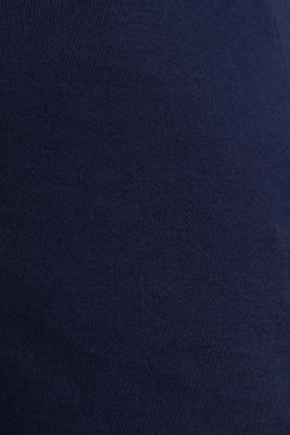 Polo shirt jumper in 100% cotton, NIGHT BLUE, detail
