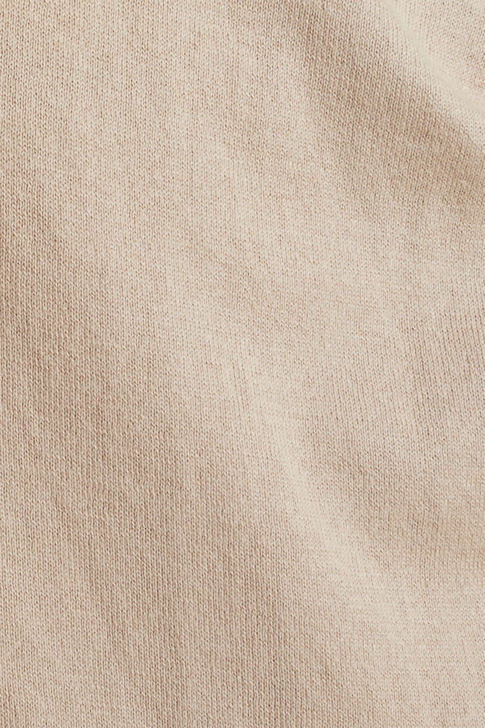 Cardigan with a belt, 100% cotton, LCBEIGE, detail image number 4