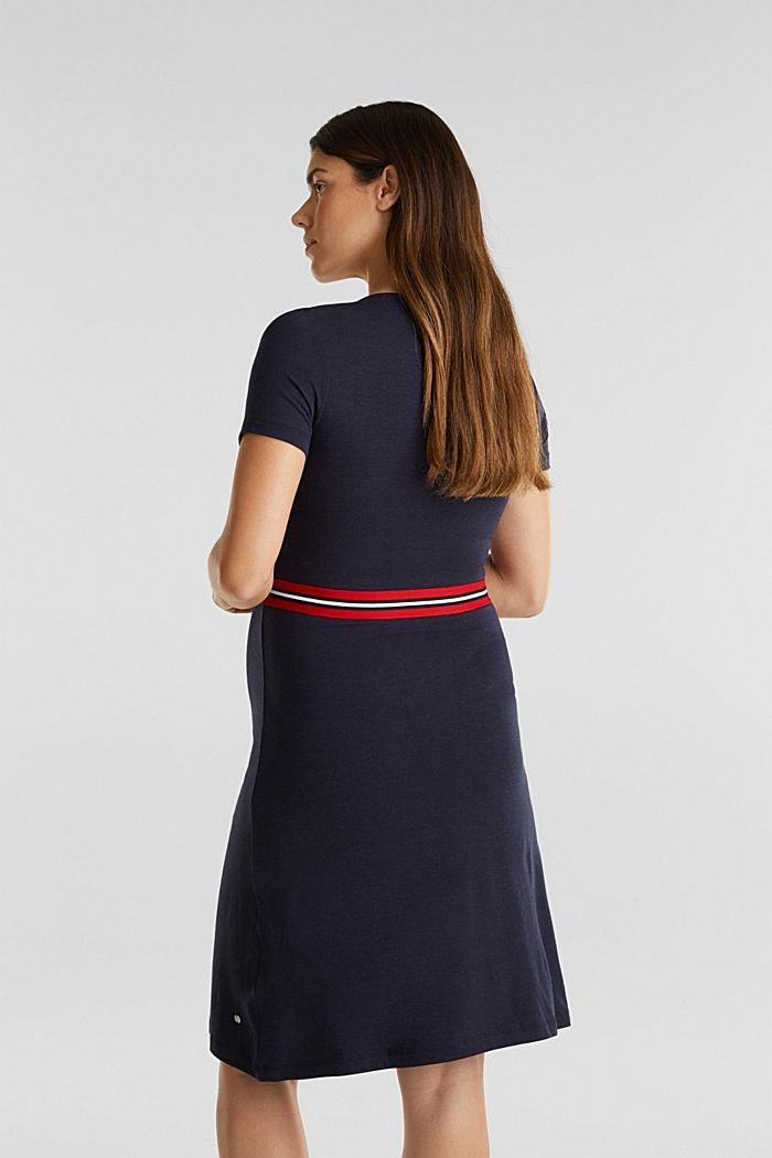 Nursing wrap dress, NIGHT BLUE, detail image number 2