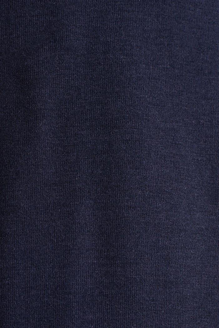Nursing wrap dress, NIGHT BLUE, detail image number 4