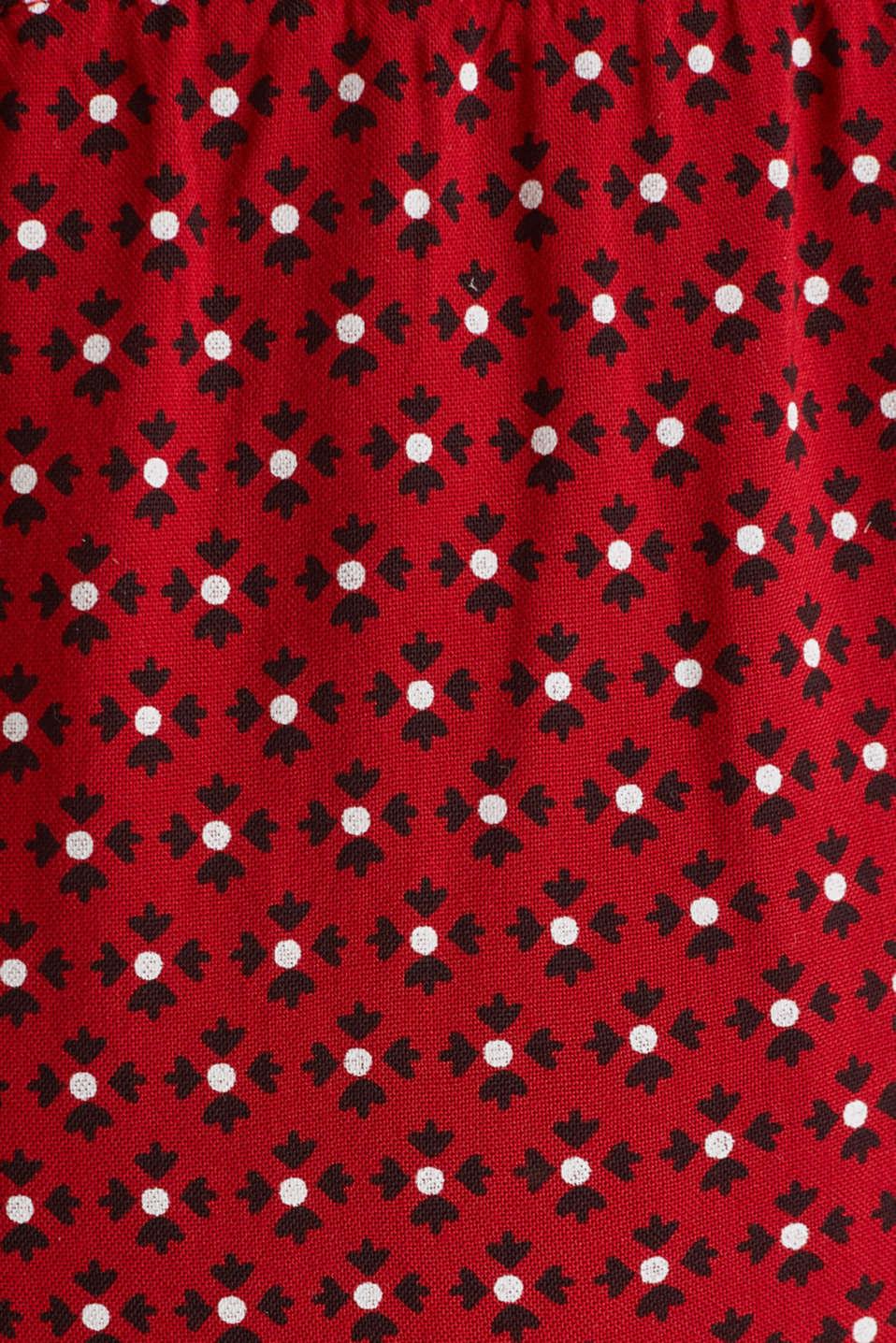 Nursing wrap dress, LCRED, detail image number 3