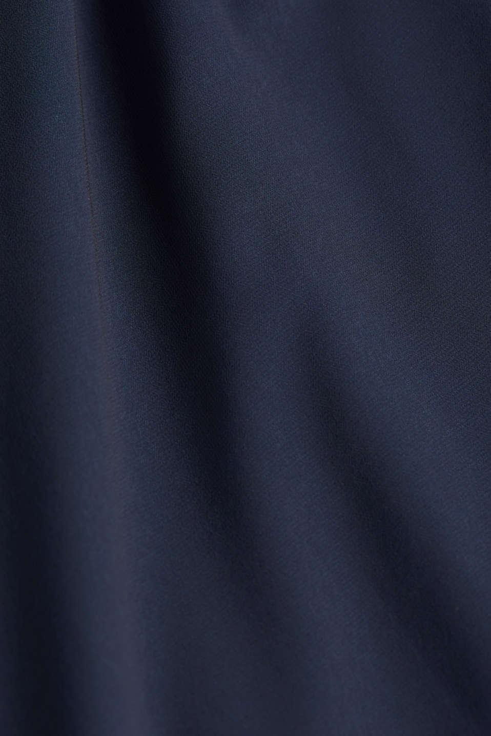 Chiffon maxi dress, LCNIGHT BLUE, detail image number 4