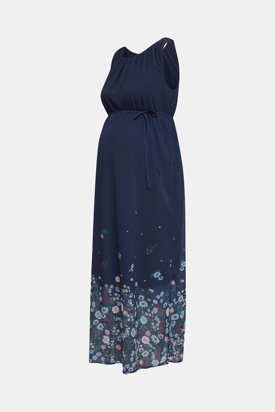 Chiffon maxi dress, LCNIGHT BLUE, detail image number 6