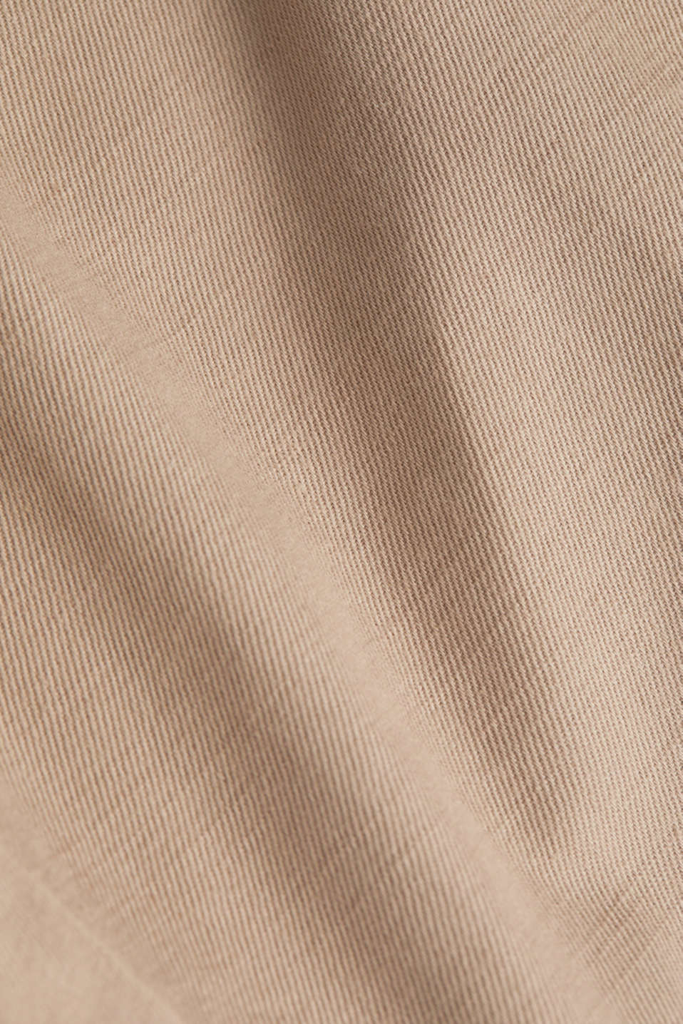 Blended linen: Trousers with under-bump waistband, LCBEIGE, detail image number 4