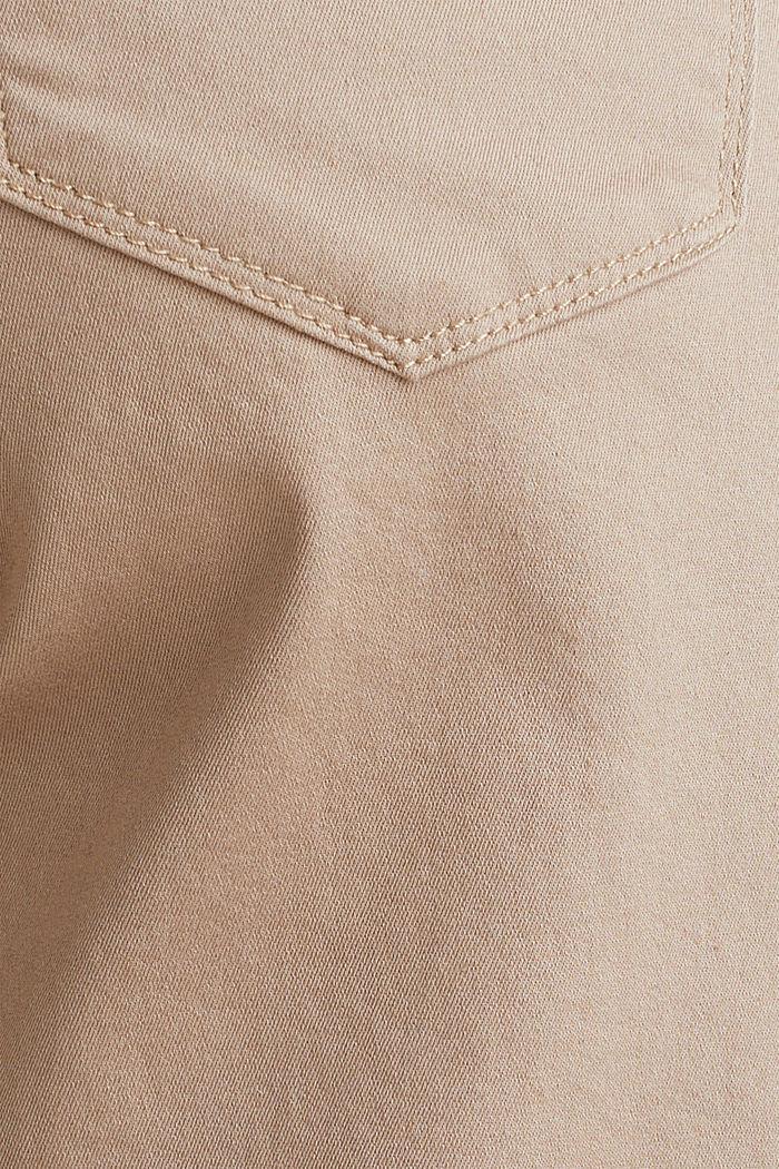 Pantaloncini stretch con fascia premaman, BEIGE, detail image number 3