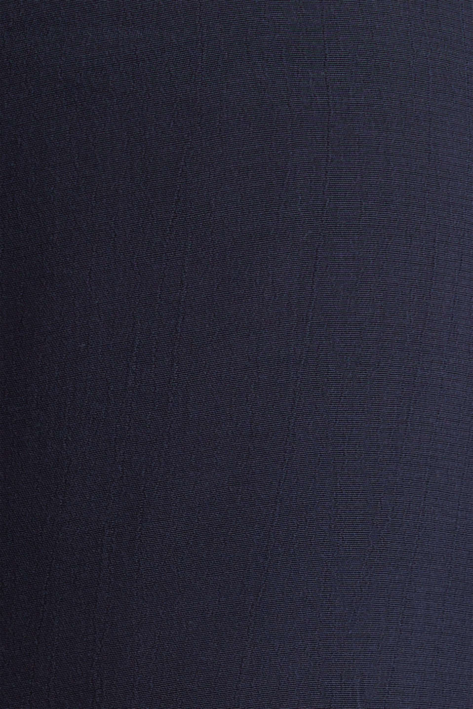 Crêpe shorts with an under-bump waistband, LCNIGHT BLUE, detail image number 4