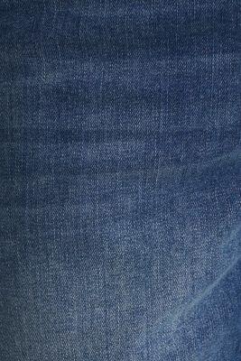 Denim shorts with an over-bump waistband, LCMEDIUM WASH, detail