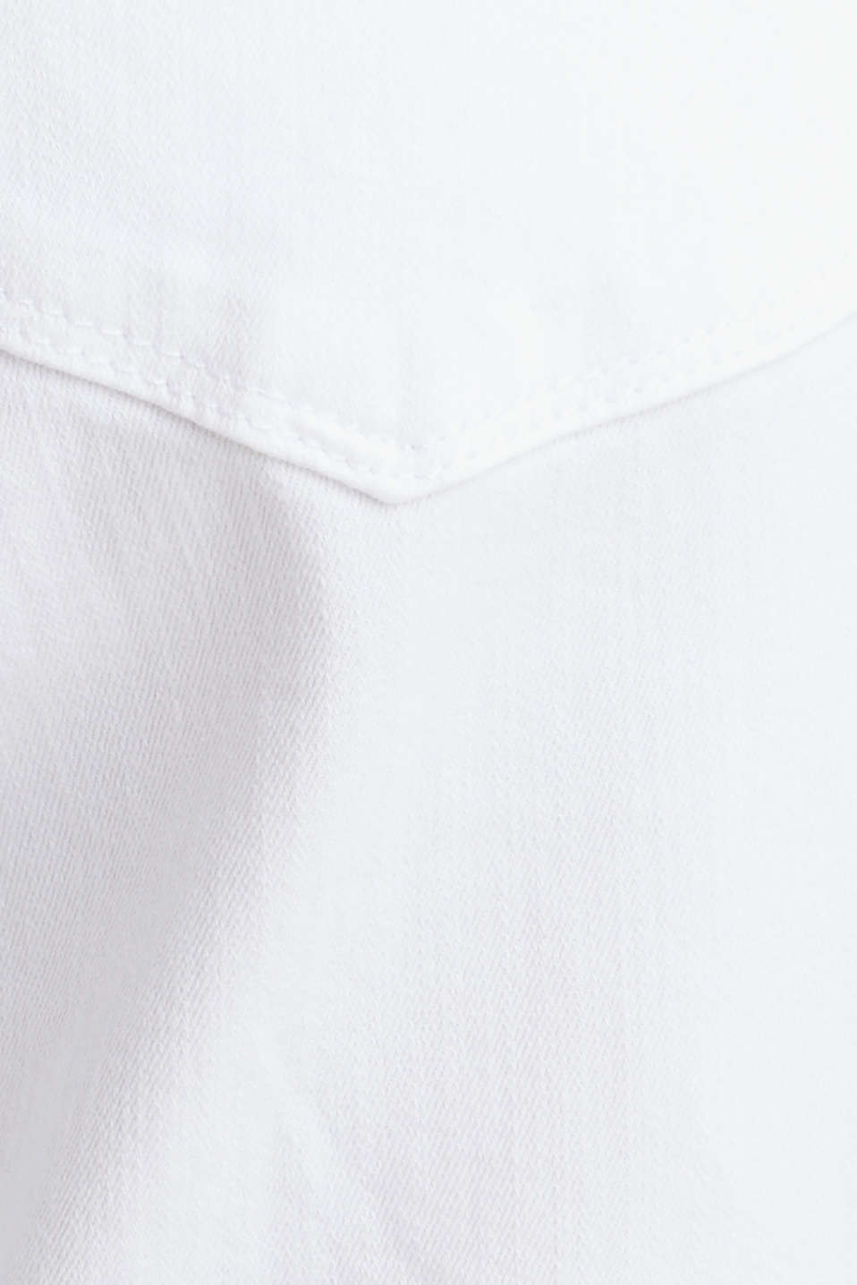 Denim shorts with an over-bump waistband, LCWHITE, detail image number 3