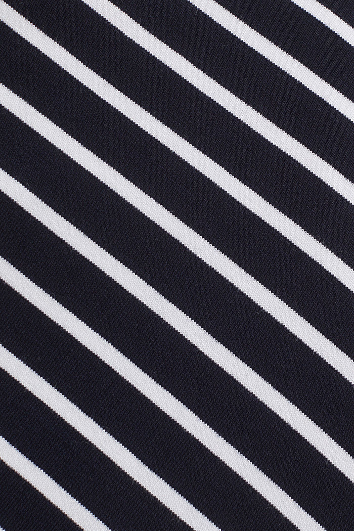 Striped skirt in stretch jersey, NIGHT BLUE, detail image number 4