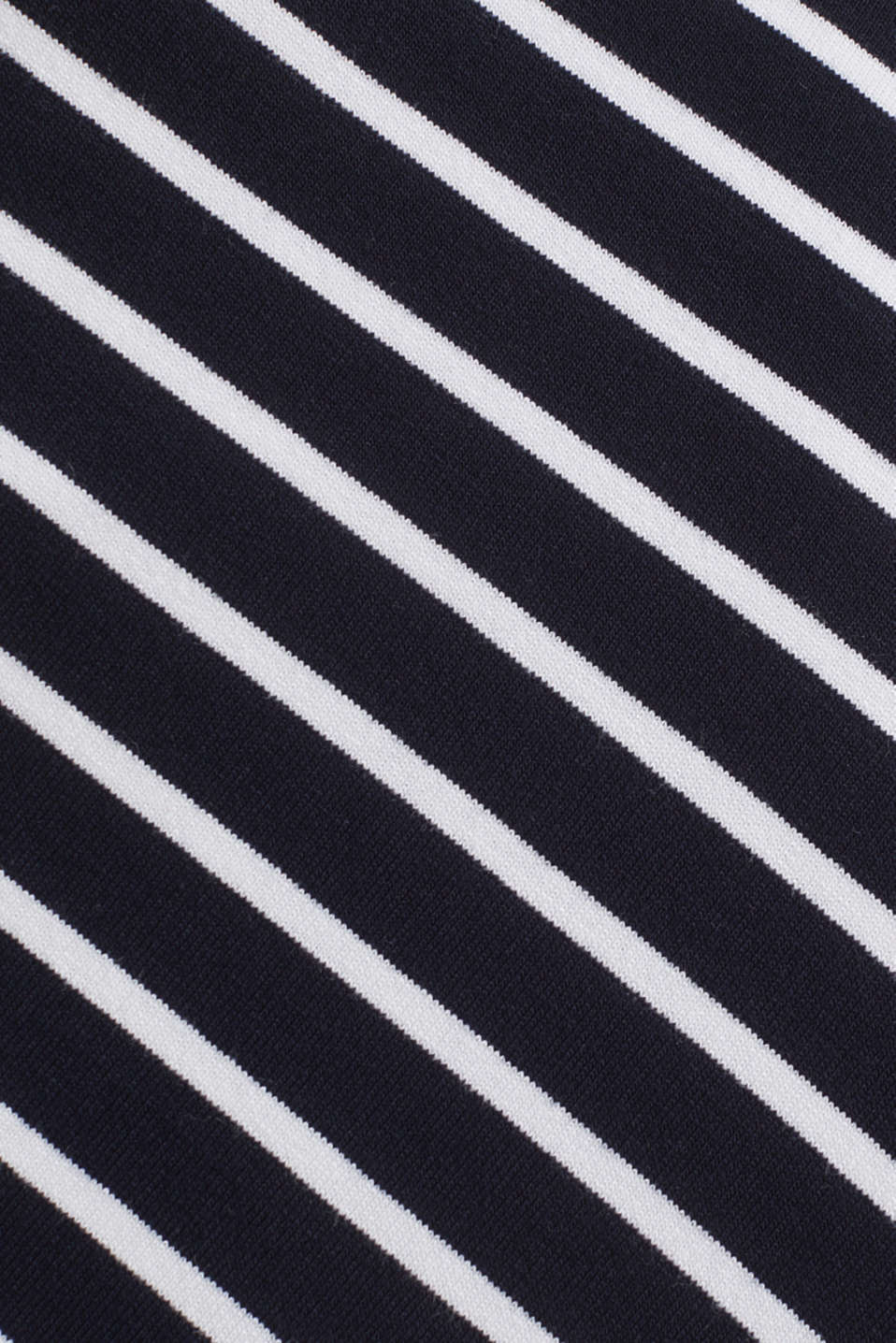 Striped skirt in stretch jersey, LCNIGHT BLUE, detail image number 4