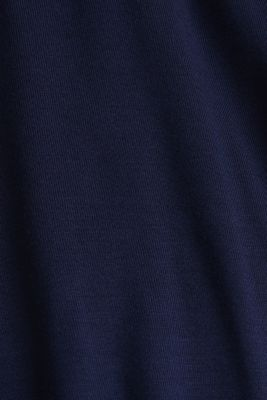 Flared skirt in stretch jersey, LCNIGHT BLUE, detail