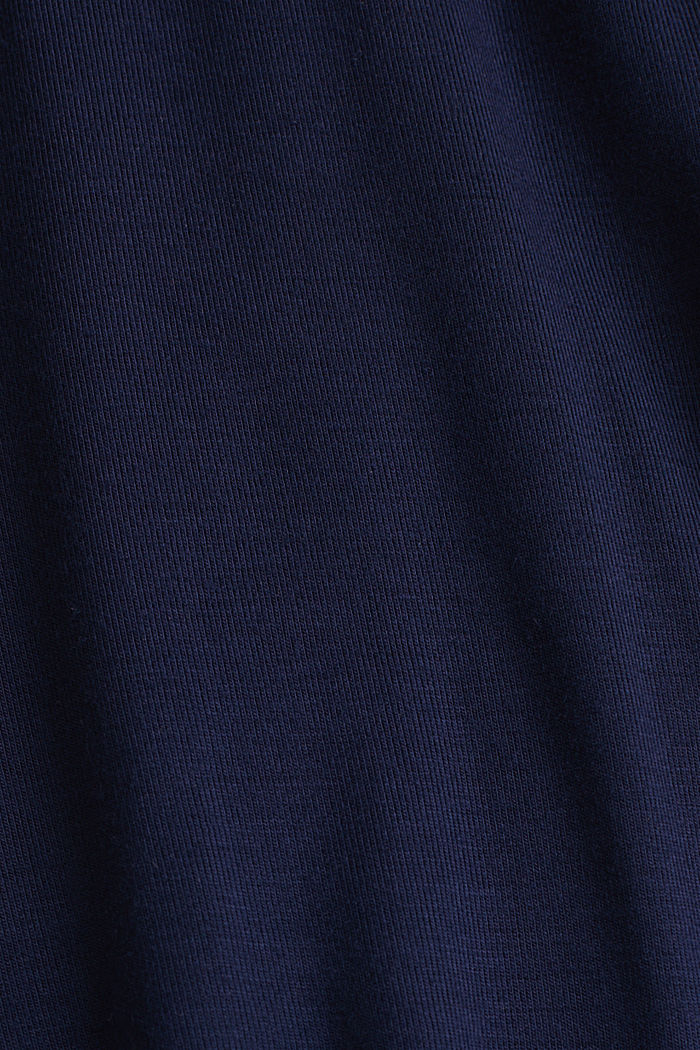 Flared skirt in stretch jersey, NIGHT BLUE, detail image number 4