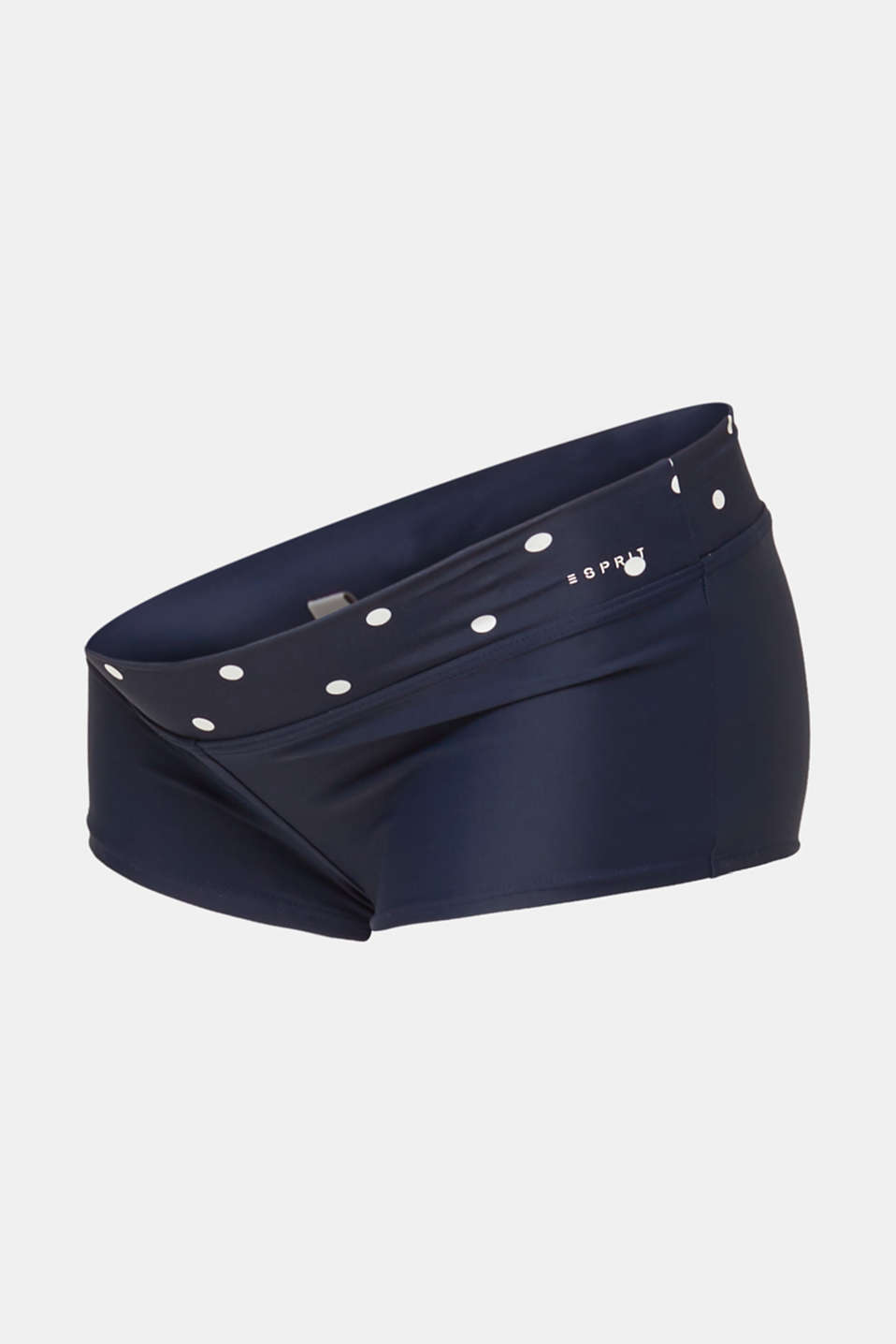 Shorts with a polka dot waistband, LCNIGHT BLUE, detail image number 4